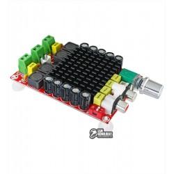 Звуковой усилитель XH-M510 D-класса TDA7498, 2 x 100W, 14-34V