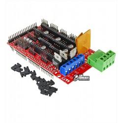 Модуль для 3D принтера RepRap под Arduino Mega 2560, RAMPS 1.4