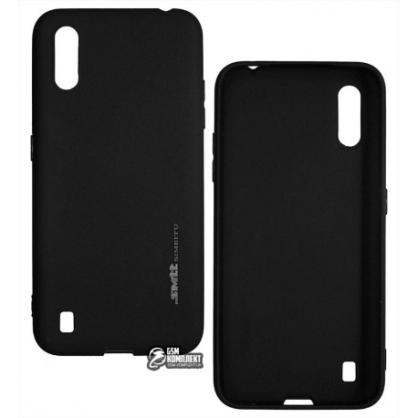 Чехол для Samsung A015 Galaxy A01 (2020), Smtt, силиконовый, черный