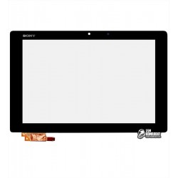 Тачскрин для планшета Sony Xperia Tablet Z2, черный, тип 2, #54,20015,537