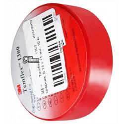 3M™ Temflex 1300 изолента красная, 0,13 x 15 мм, 10 м