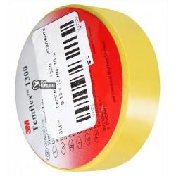 3M™ Temflex 1300 изолента желтая, 0,13 x 15 мм, 10 м