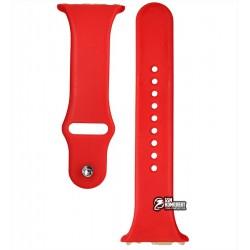 Ремешок для смарт часов Smart Watch A1, красный б/у