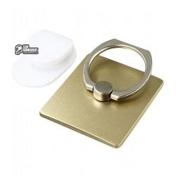 Кольцо держатель для телефона Ring Holder Universal Smartphone gold
