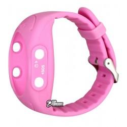 Ремешок для детских часов Smart Baby Watch GW300S (Q520S) розовый
