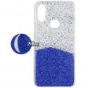 Чехол для Xiaomi Redmi 7, Fashion popsoket, силиконовый, blue