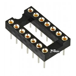 Панель DIP цанговая, 14pin ICSM-300-14, для микросхем
