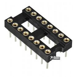 Панель DIP цанговая, 16pin ICSM-300-16, для микросхем