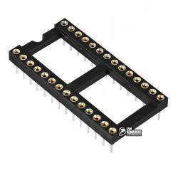 Панель DIP цанговая, 28pin ICSM-300-28, для микросхем