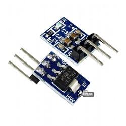 AMS1117-5.0 mini модуль линейного понижающего преобразователя напряжения с малым падением