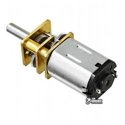 Микромотор с редуктором GA12-N20 6V, 100RPM