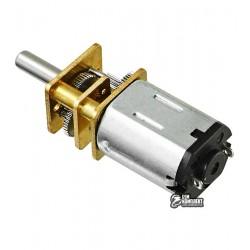 Микромотор с редуктором GA12-N20 6V, 150RPM