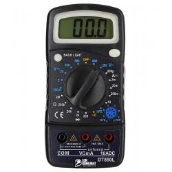 Мультиметр цифровой DT850L с подсветкой