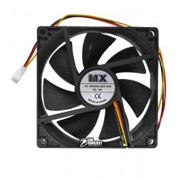 Вентилятор MX-9025 92 x 92 x 25 mm, 12V, 0.2A, 3 провода с функцией FG