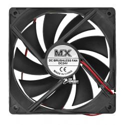 Вентилятор AV-12025M24S 120 x 120 x 25 mm, 24V, 0.2A, 2 провода