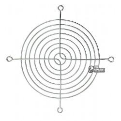 Решетка для вентилятора 120x120mm, металлическая, никелированная