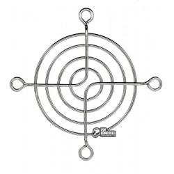 Решетка для вентилятора 60 x 60 mm, металлическая, никелированная