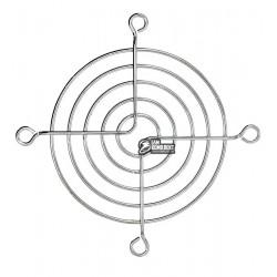 Решетка для вентилятора 70 x 70 mm, металлическая, никелированная