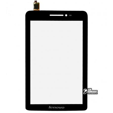 Тачскрін для планшету Lenovo IdeaPad S5000, чорний, #MCF-070-1067-V2