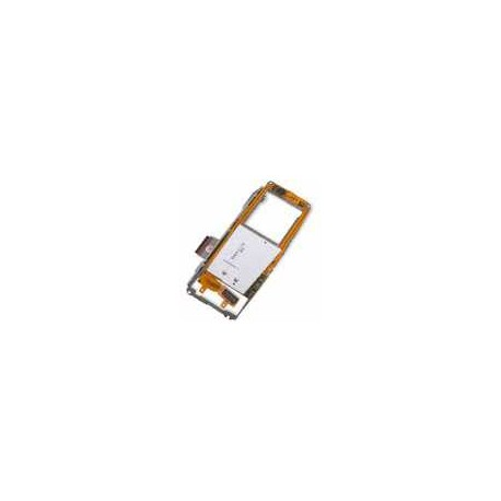 Клавиатурный модуль для Nokia 9300, под мобильную клавиатуру, с компонентами, со средней частью