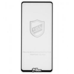 Закаленное защитное стекло для Samsung A515 Galaxy A51 2019, 0,26 мм 9H, 2.5D, Tiger Glass, Full Glue, черное
