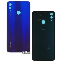 Задняя панель корпуса для Huawei Nova 3i, P Smart Plus, фиолетовая