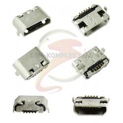 Коннектор зарядки для Meizu M2 Note, MX3, M3 Note (L681H), 5 pin, micro-USB