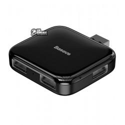 USB-hub Baseus Fully folded portable 4в1 (USB A на 4USB2.0 with power supply)