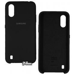 Чехол для Samsung A015 Galaxy A01 (2020), Silicone cover, силикон софттач
