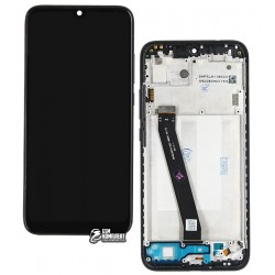 Дисплей Xiaomi Redmi 7, черный, с сенсорным экраном (дисплейный модуль), с рамкой, Original (PRC)