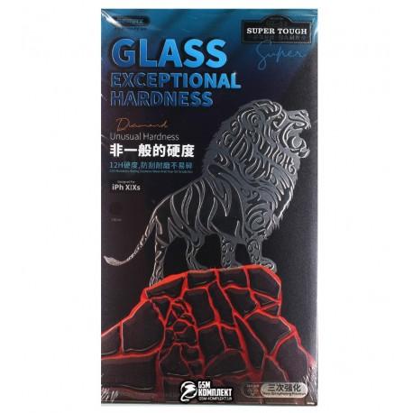 Защитное стекло для iPhone X/XS/11 Pro, Remax Panshi Shatter-proof Glass GL-51, 3D, черное