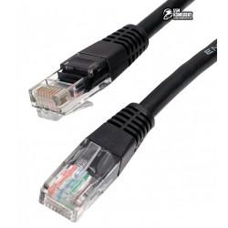 """Патч-корд литой 5м Cablexpert PP12-5M/G UTP, категория. 5E, 50u """" с защелкой, зеленый"""