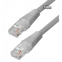 Патч-корд литой 1,5м Cablexpert PP12-1.5M, белый