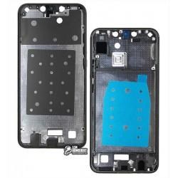 Рамка крепления дисплея для Huawei P Smart Plus (2018), черная