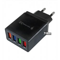 Зарядное устройство AR-QC3.0, 2.1А (4A max), 3USB, с QC 3.0 (Qualcomm Quick Charge)