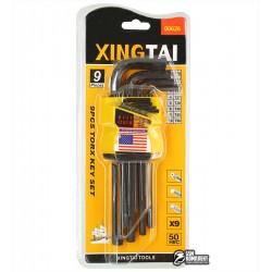 Набор шестигранных ключей Xingtai-b 9шт от 1.5мм до 10мм