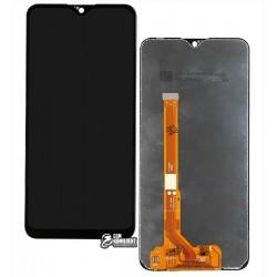 Дисплей Vivo Y91c, Vivo Y91i, Vivo Y93, Vivo Y95, черный, с сенсорным экраном (дисплейный модуль), Original (PRC)