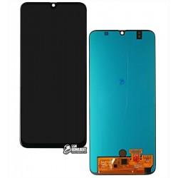 Дисплей Samsung A505 Galaxy A50, черный, с сенсорным экраном, (OLED), High Copy