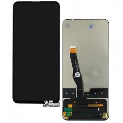 Дисплей Huawei P Smart Z, Y9 Prime 2019 черный, с сенсорным экраном (дисплейный модуль), оригинал (переклеено стекло)