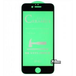 Защитное оргстекло для iPhone 6, iPhone 6s, Ceramica, с фаской, черное