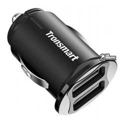 Автомобильное зарядное устройство Tronsmart C24 Dual USB Port Car Charger, 2.4A