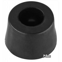 Резиновая ножка под винт для корпуса, черная d=20,5мм