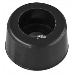 Резиновая ножка под винт для корпуса, черная d=10мм