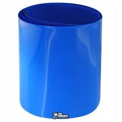 Термоусадочная лента для аккумуляторов синяя, ширина 90мм, 1м, диаметр 50мм