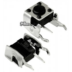 Кнопка тактовая 6 x 6 x 4.3 мм, 2pin, боковая