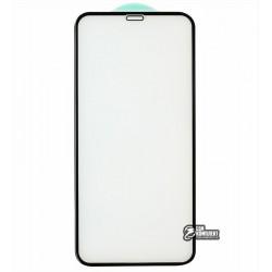 Закаленное защитное стекло для iPhone X, iPhone Xs, iPhone 11 Pro, 3D, 4D ARC, черное