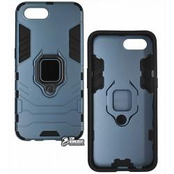 Чехол для Realme C2, Armor Case, с кольцом держателем