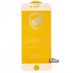 Закаленное защитное стекло для iPhone 7, iPhone 8, 0,26 мм 9H, 4D ARC