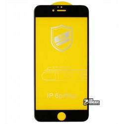Закаленное защитное стекло для iPhone 6 Plus, iPhone 6s Plus, 4D ARC, черное