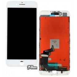 Дисплей iPhone 7 Plus, белый, с сенсорным экраном (дисплейный модуль), с рамкой, Сopy, NCC ESR ColorX